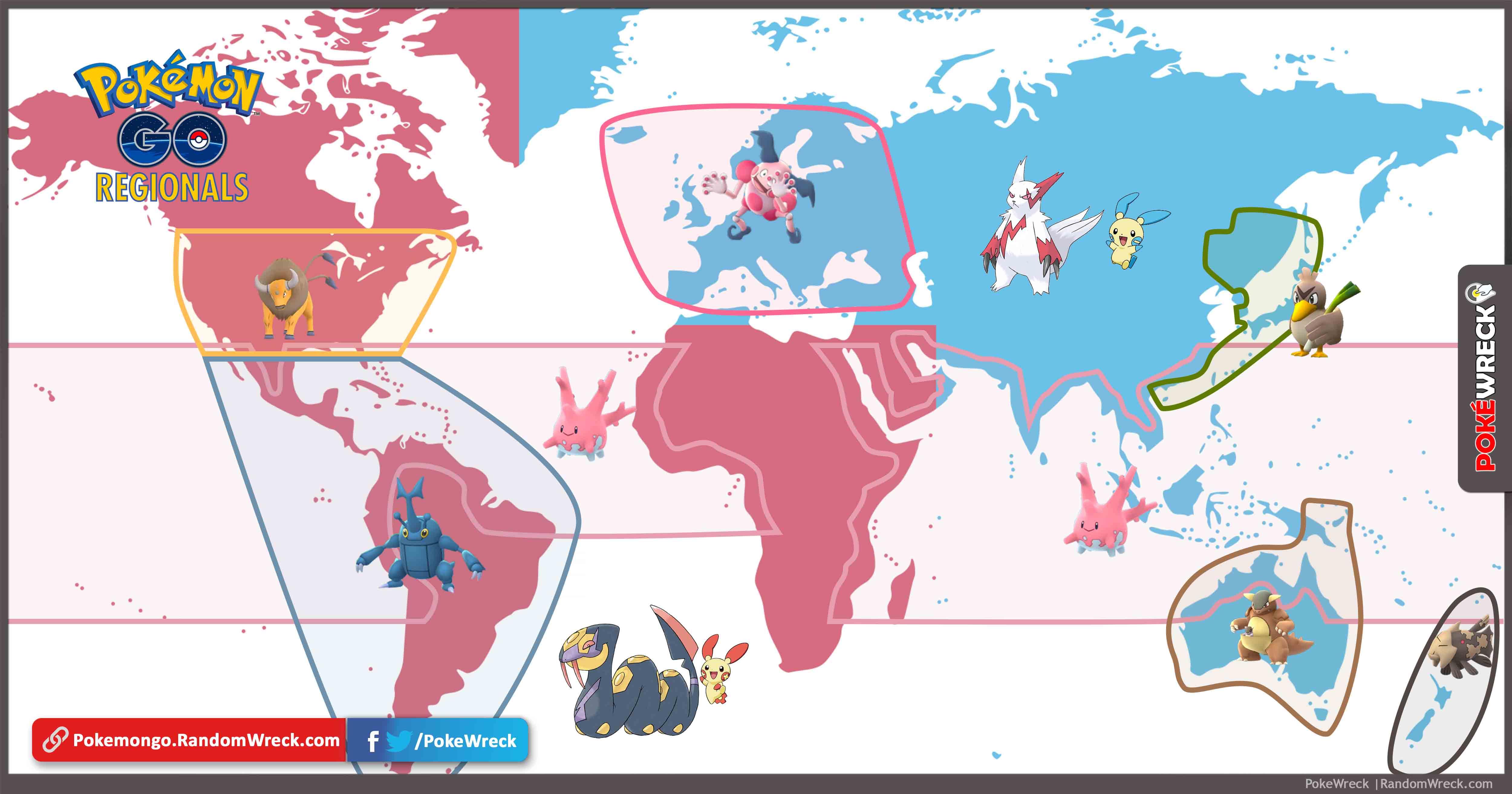 Regionale Pokemon
